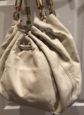 Michael Kors Vanilla Collection Tassel Handbag Purse