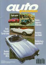 1987 Auto Passion Magazine: Roadster Mercedes 300 SL/Jeam Redele/Ferrari 250 GTO