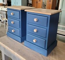 3 drawer bedside cabinets