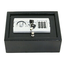 Electronic Safe Drawer Pistol Box Lock Storage Safes Cabinet Home Security Gun