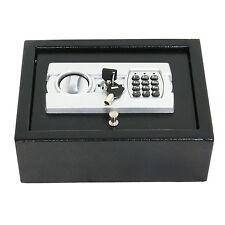 Electronic Safe Drawer Pistol Box Lock Storage Safes Cabinet Home Security Gun