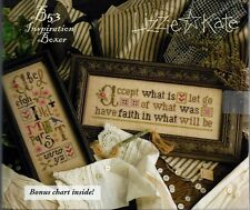 Lizzie Kate Accept What Is Inspiration Boxer Cross Stitch Kit