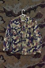 Romanian Army M90 Woodland Leaf Camo Uniform Shirt, Size Medium