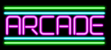 """Custom Arcade Game Room Video 14""""x10"""" Neon Sign Lamp Light Beer Bar With Dimmer"""