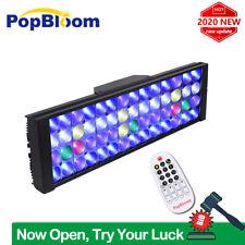 PopBloom Aquarium Beleuchtung Led Vollspektrum Meerwasser Lampe Für Reef Coral