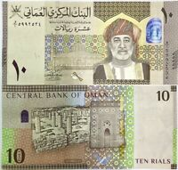 Oman 10 Rials 2020 / 2021 Hybrid Polymer Window P New Design UNC