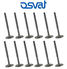 12 Piece Engine Intake Valves 7mm Stems for Volvo S80 Ovsat 1270455 New Set Kit