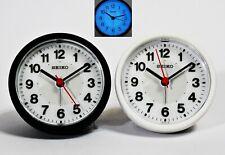 Seiko QHE159 High Quality Beep Alarm Clock luminous Flashing