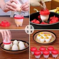 Contenitore termico cuoci uova in silicone per uovo bollito pratico e veloce 6pz