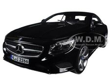 2014 MERCEDES S CLASS COUPE BLACK 1/18 DIECAST MODEL CAR BY NOREV 183482
