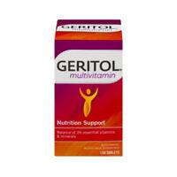 Geritol Multivitamin Nutrition Support Tablets 100 ea (Pack of 4)