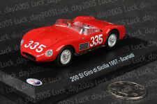 Maserati 200 SI Giro di Sicilia 1957 #335 Scarlatti 1/43 Diecast Model