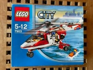 BNIB Lego City 7903 Rescue Helicopter Retired set from 2006 Very Rare!!