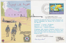 ES23e Escape from Libya  Signed A.J.Williams.& J.H.Lambert Her Majesty's  Ambass