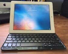 APPLE iPad 2nd w Logitech Keyboard Case Great Working UNLOCKED A1396 64GB BUNDLE