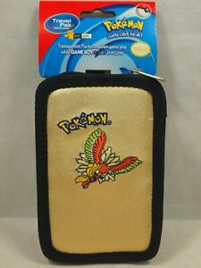 Nintendo Pokemon Game Boy Color Gold Carrying Travel Pak Case Ho-Oh New