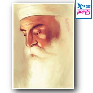 Guru Nanak Dev Ji Poster Wall Art Print Picture Sikh Sikhism A3 A4 Laminated #03