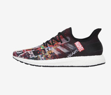 New! adidas AM4 Marvel 80 Vol. 2 FY3006 Black/White Boost Shoes c1
