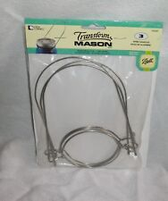 Transform Mason Ball - Silver Wire Handles Pack Of 3 - Standard Mouth 1026287