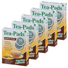 100 Tee Pads (5Pkg)  Rooibuschtee Vanille- Tea-Pad  Tea-Friends- Senseo geeignet