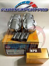 NPR 81.5MM HIGH COMPRESSION PISTONS & RING ACURA INTEGRA TYPE R CIVIC SI B16 B18