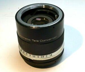 Vivitar 3X-1 Teleconverter lens for Pentax M42 lenses SMC Takumar screw mount