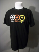 LRG Lifted Research Group Adult LOGO T-Shirt Size M Medium Black Premium Fit Tee