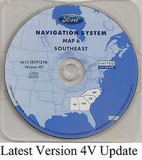 05 06 07 Ford Escape Hybrid Navigation CD Map #6 Cover AL GA SC Partial State NC