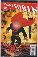 All Star Batman and Robin (2005) #4  Frank Miller Variant Cover 4 Lee 5  Lee