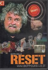 Reset - BEPPE GRILLO - Film in DVD - 2007- 150 minuti - ST577