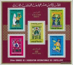 tunisia Block3C (complete issue) unmounted mint / never hinged 1970 Scenes out t