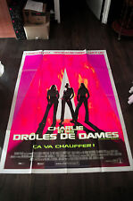 CHARLIE'S ANGELS 4x6 ft Vintage French Grande Movie Poster Original 2000