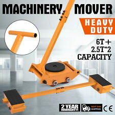 11T Machinery Mover Machinery Skate Kit Heavy Equipment 6T+2.5T Machinery Mover