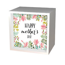 Light Box Arts Happy Mothers Day Battery Operated LED Light Box Home Decor