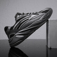 Men's Fashion Athletic Sneakers Outdoor Jogging Flash Flannel Running Shoes