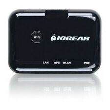 IOGEAR Universal RJ-45 Ethernet to WiFi N Adapter with Dual Antennas & WPS