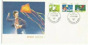 1989 Australia ⁙ Sport Series I ≈ First Day Cover