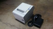 Epson Model TM-T88III POS Thermal Receipt Printer -  10/100 Ethernet Infterface