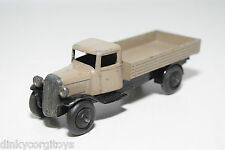 DINKY TOYS 25A 25 A OPEN WAGON TRUCK GREY WITH BLACK EXCELLENT CONDITION
