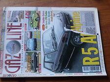 $$y Revue Gazoline N°69 R5 Alpine  Scirocco  Sovam 1100 vs 850  Renault 4 CV