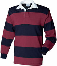 Men's Striped Long Sleeve Cotton Casual Shirts & Tops