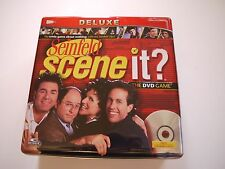 *New* Board Game-Seinfeild Scene it? the DVD Game Deluxe Edition in Tin Case