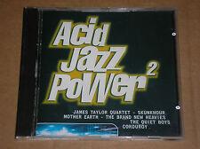 ACID JAZZ POWER 2 (BRAND NEW HEAVIES, JAMES TAYLOR QUARTET, CORDUROY) - CD