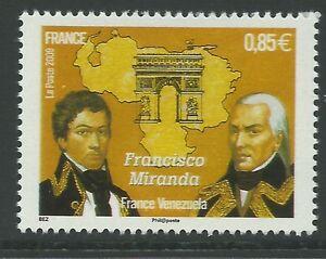 France 2009 - Famous People Francisco Miranda France/Venezuela - Sc 3729 MNH