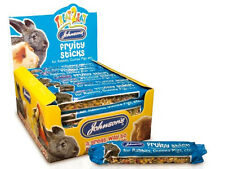 JOHNSON'S FRUITY STICK TREATS FOOD RABBIT GUINEA PIG