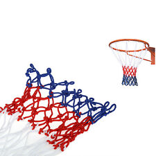 Filet De Basket Nylon Tricolore Panier Ball Basketball Net Mesh Durable Sport