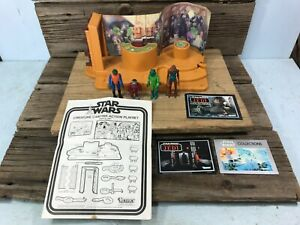 1979 Vintage Kenner Star Wars Creature Cantina Action Playset with Figures