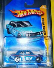 Hot Wheels Datsun Bluebird 510 New Models Blue $1.00 Bid ck other items