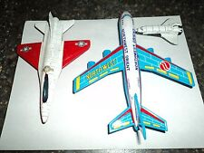 Toy Airplanes Tootsie and Japan Tin Friction and Die Cast