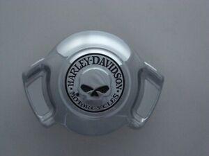 Harley Davidson Skull Totenkopf Airwing Hupen Abdeckung Cover customized chrom